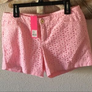 Lilly Pulitzer Eyelet Shorts